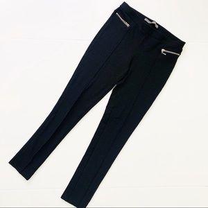 Zara Girls Skinny Fit Pants Zip Pocket Pleated